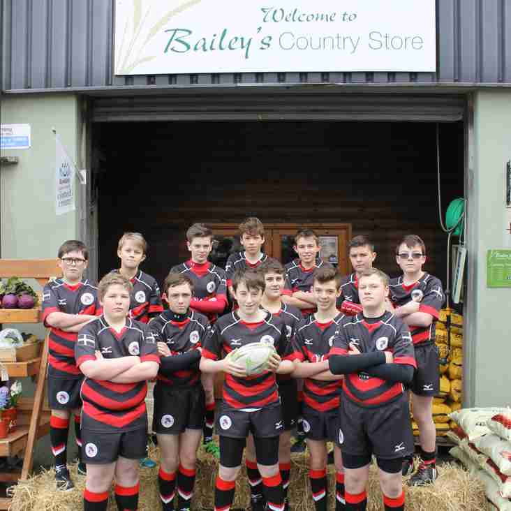 Trio of Sponsors Sign Up To Support U13s