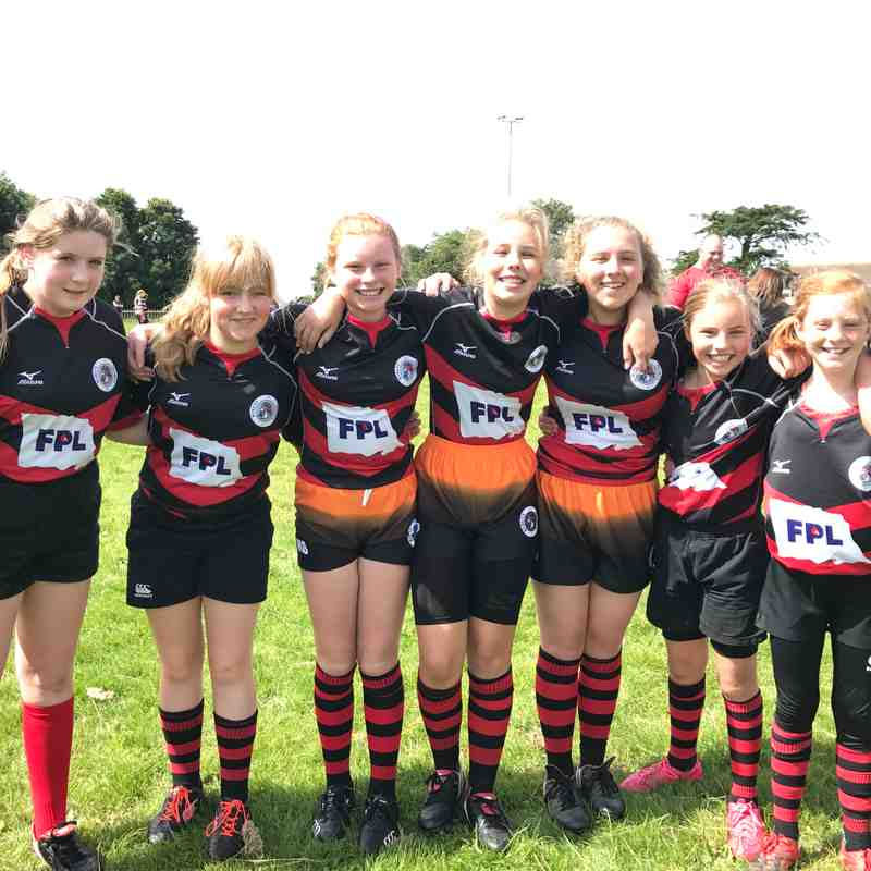 Penryn Girls at Helston Touch Festival August 2017