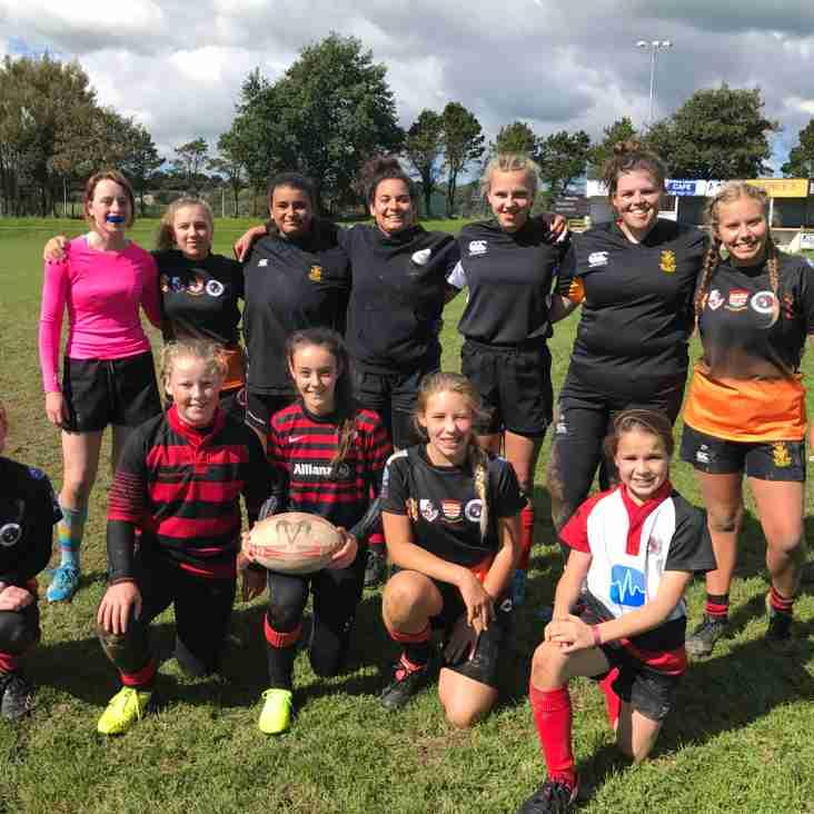 Penryn Girls' Hone Skills At County Development Day