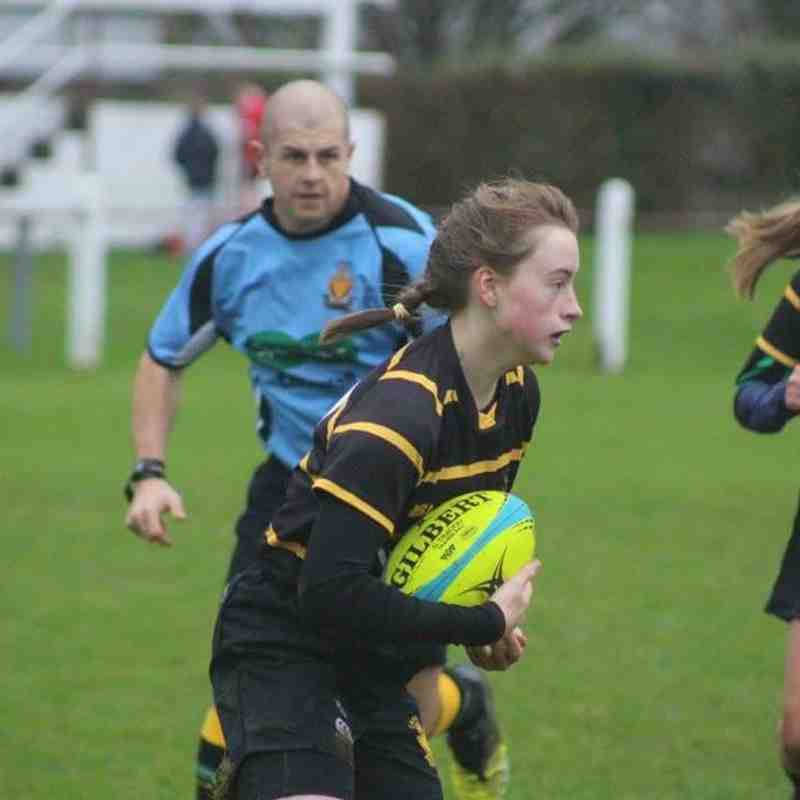 Girls Play For Cornwall