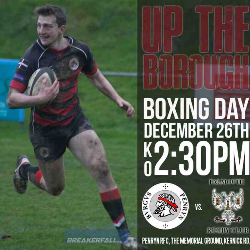 Falmouth Fixture Poster