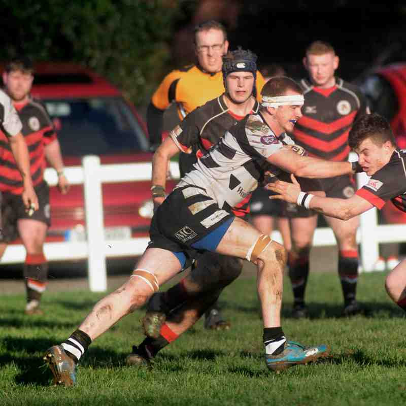 Falmouth One & All v Penryn Saracens - 6th Jan 2018 by Colin Higgs