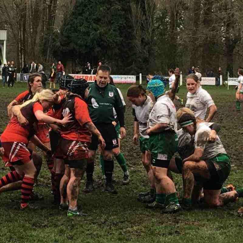 Newton Abbot v Penryn Ladies - 28th January 2018