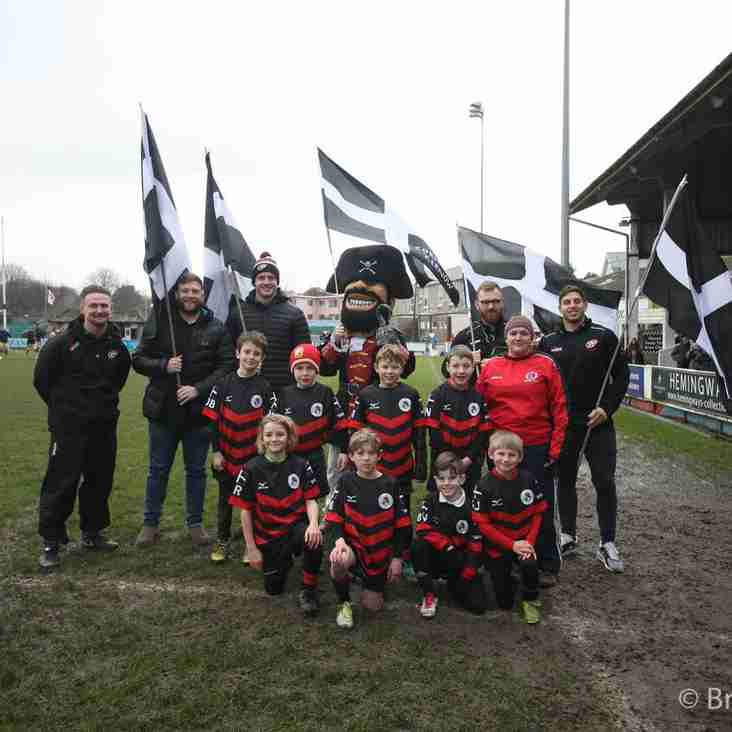 Penryn U8s Have Day To Remember At Pirates