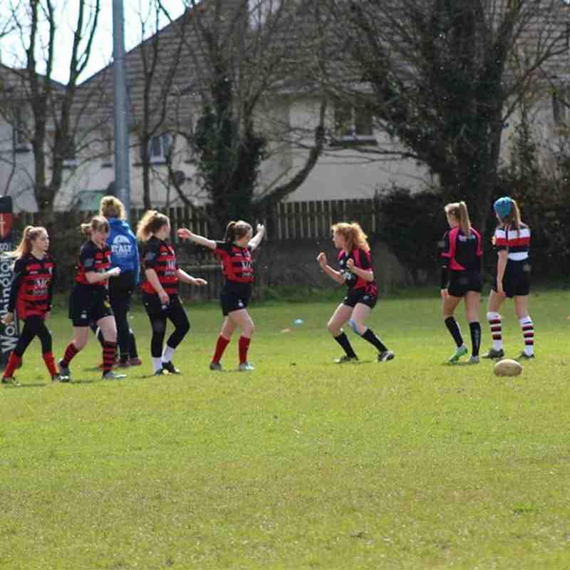 Girls U15s Helston