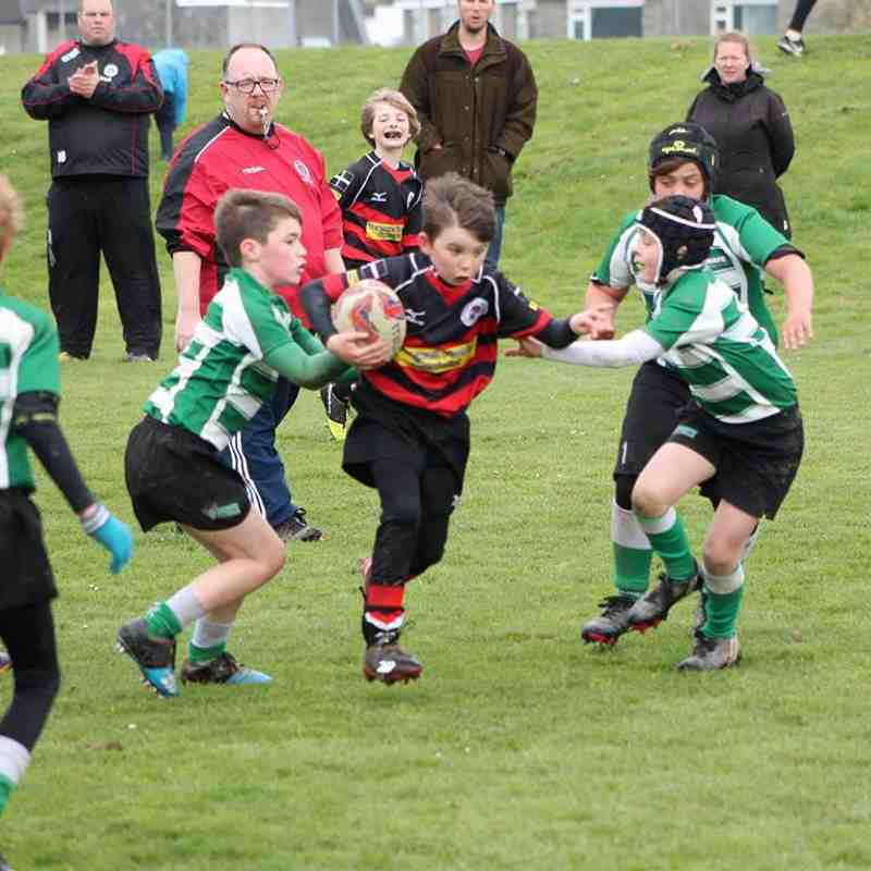 U9s 2017/18 v Newquay Hornets by Phil Russell