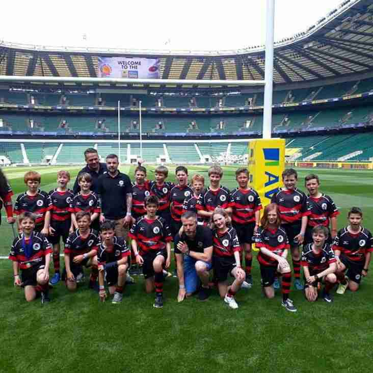 Under 11s Day To Remember At Twickenham!