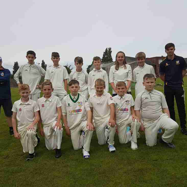 Junior news: £375 raised for new equipment and under 13 practice cancelled on Monday