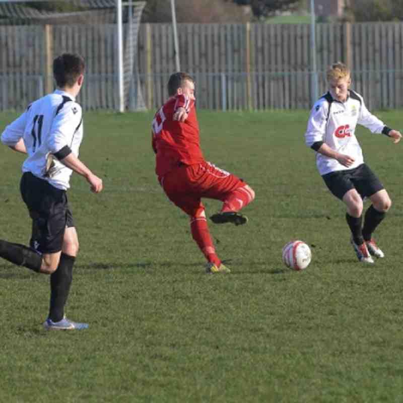 EUAFC U18's vs Crawley Down 06/01/13