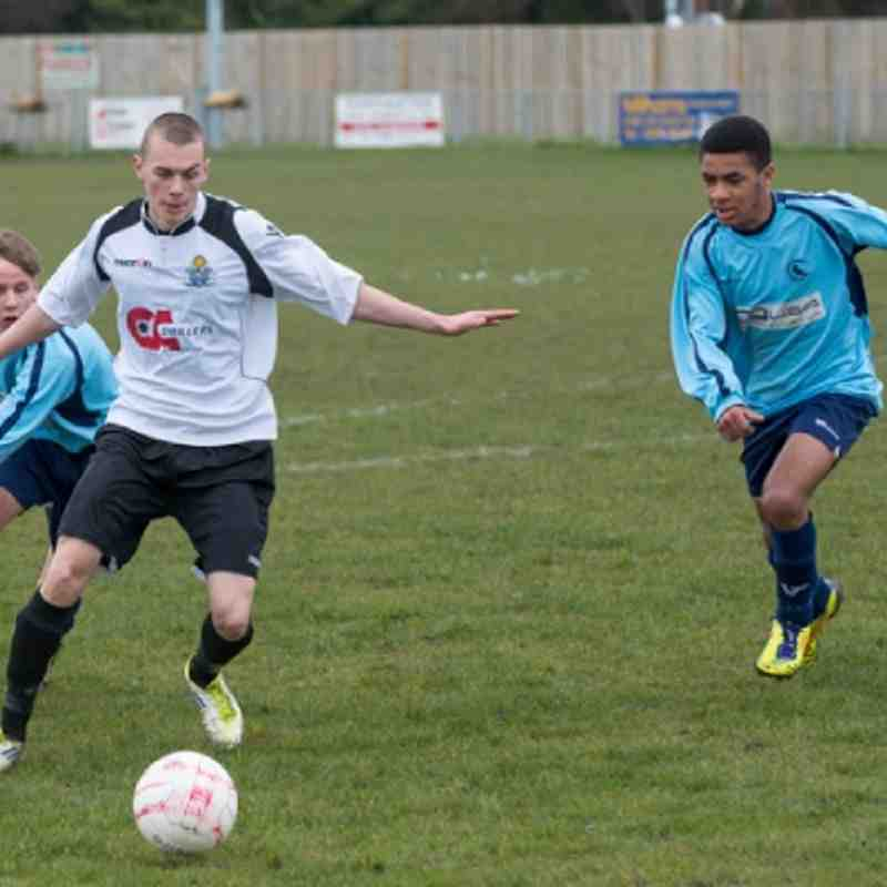 EUAFC U18's vs Crowborough Athletic