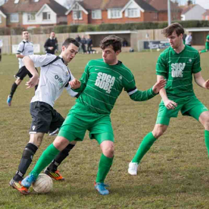 EUAFC Reserves vs Mile Oak 30-03-13
