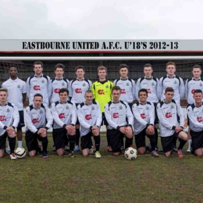 EUAFC U18's vs Eastbourne Borough 09-04-13