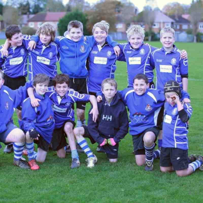 Brackley U11's @ S&L Tournament 28.10.2012