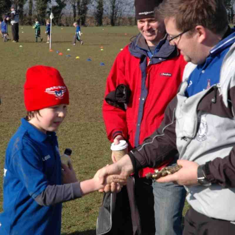 Brackley U9's v Buckingham 17.02.2013