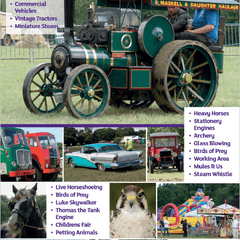 Volunteers wanted - Dacorum Steam and Country Fayre 30/31 July, 2016
