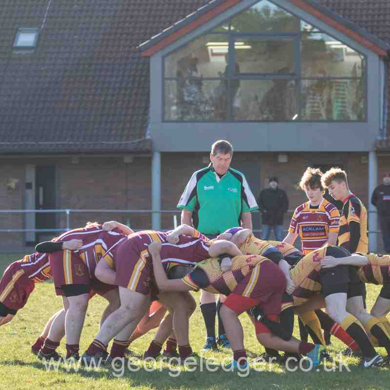 Consett RFC U16's v Middlesbrough U16's