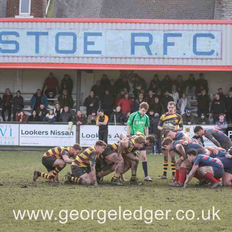 South Shields and Westoe 23 - 16  Consett RFC , January 2018.