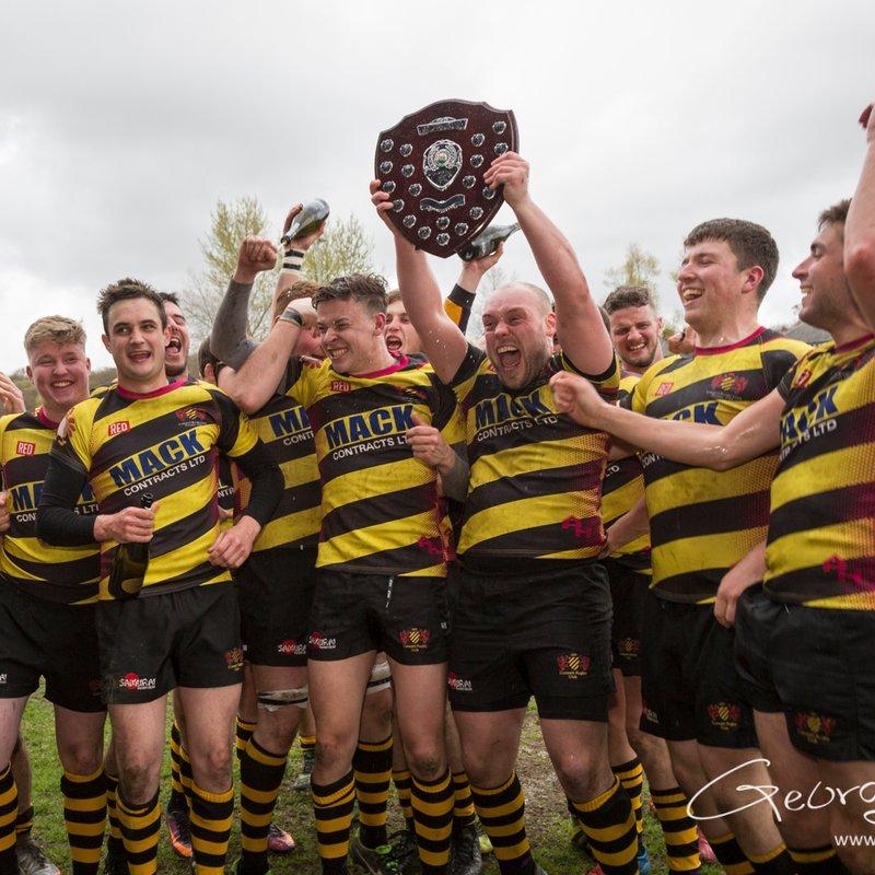 Consett RFC League win Presentation, Celebration photos. April 2018