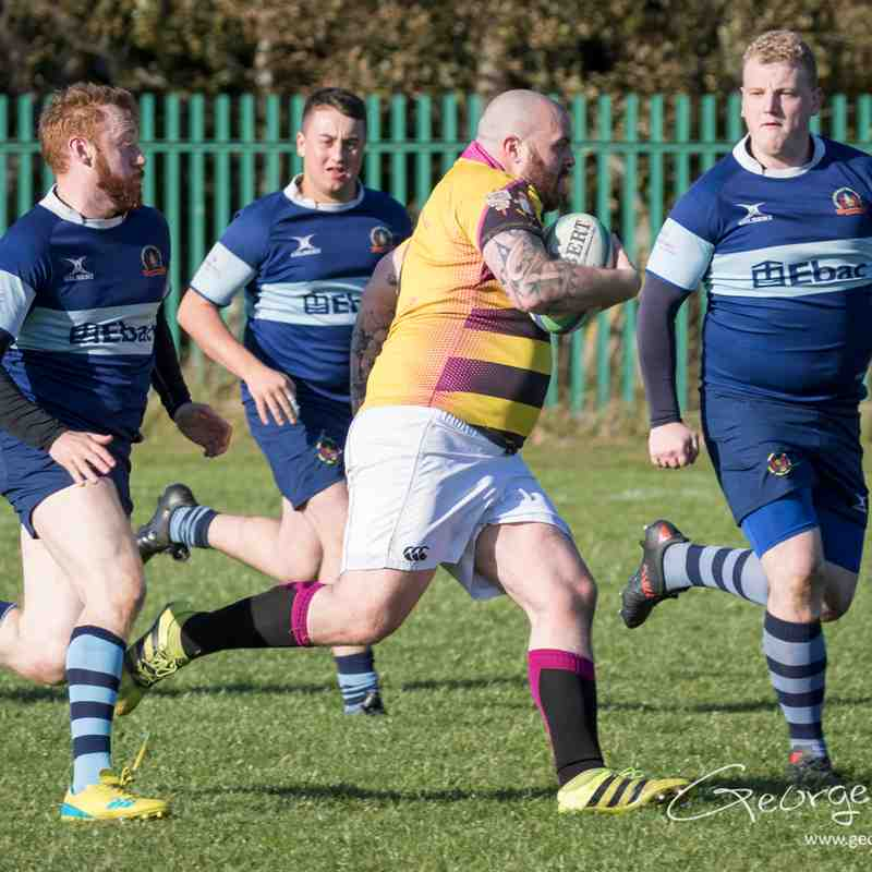 Consett 2nd's 75 - 5 Bishop Auckland 2nd's