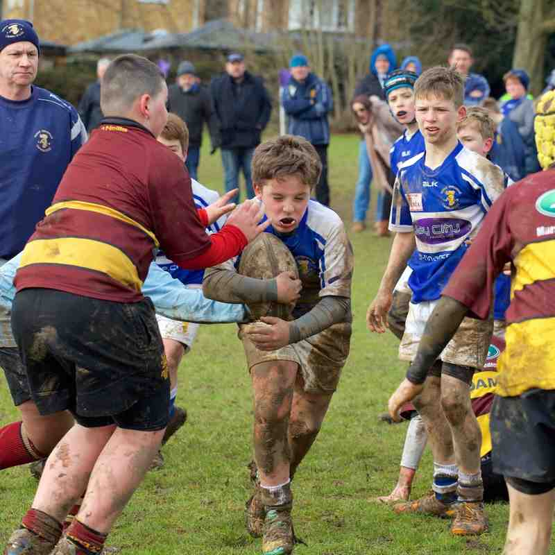 U12's Home to Ampthill