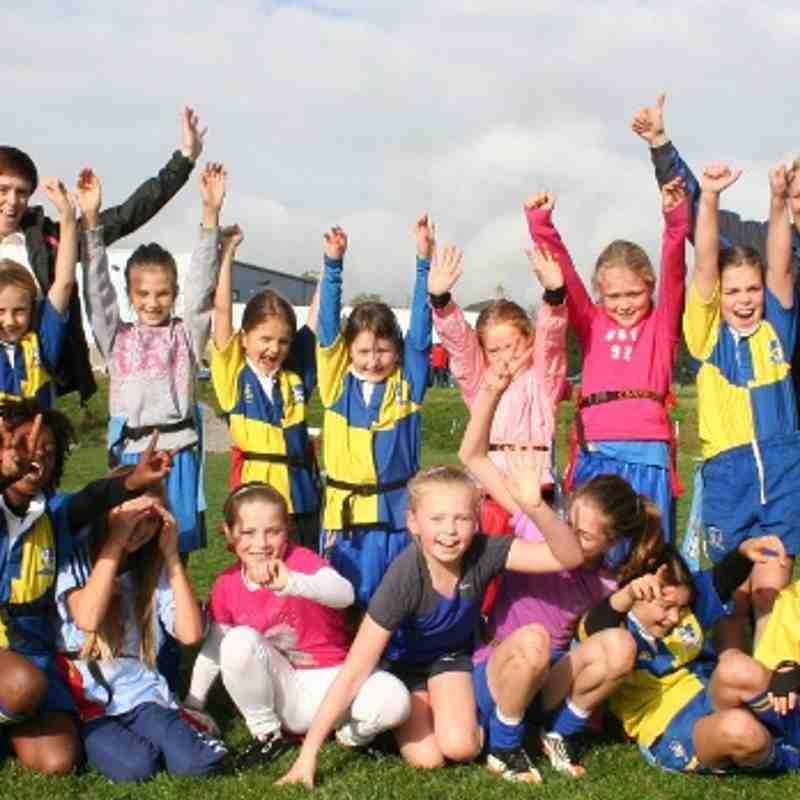 Girls U9/11 @ Rugby-thon