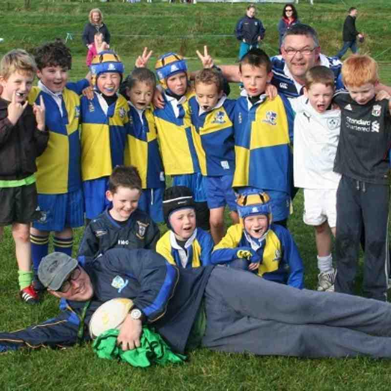 Under 8s @ Rugby-thon