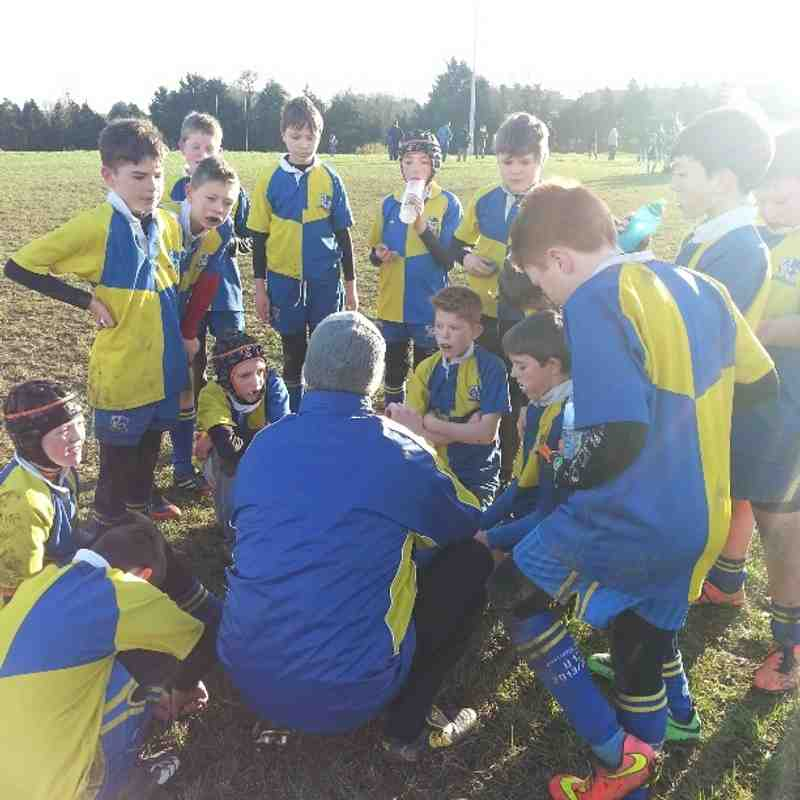 Under 12s Vs Ardee / Dundalk - December '14