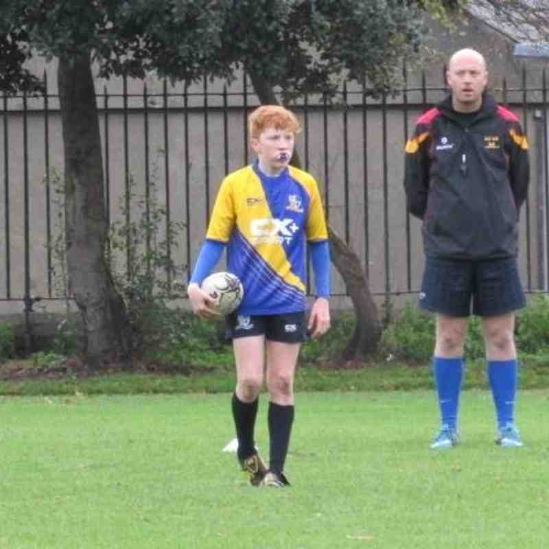 Under 14s Vs Lansdowne