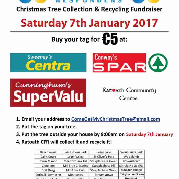 Ratoath Cardiac First Responders Christmas Tree Collection.