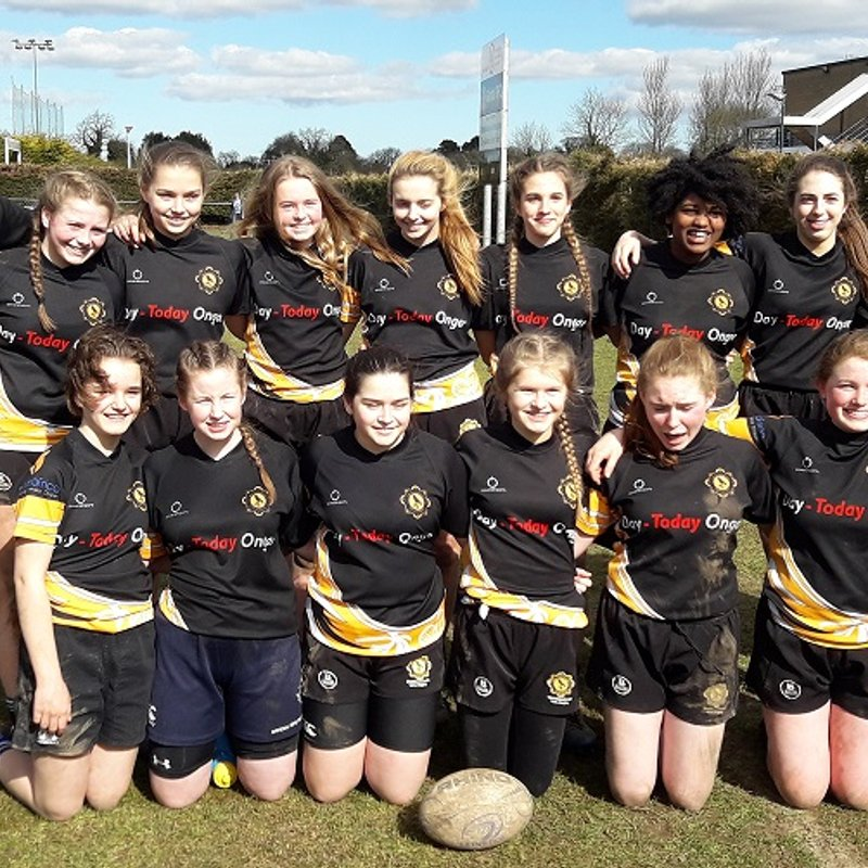 Well done to the Girls Under 16s