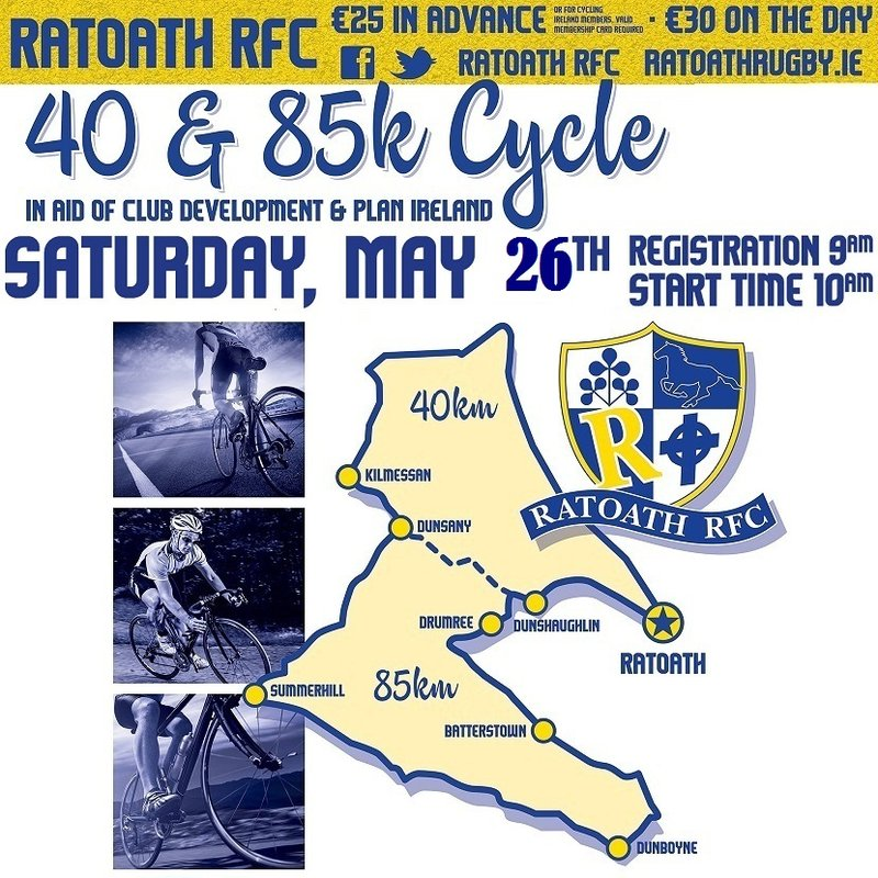 Ratoath RFC  Cycle Routes