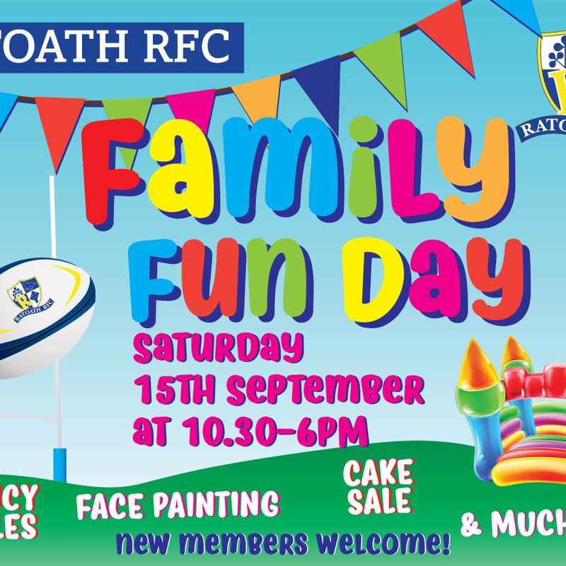New Pitch Opening & Family Fun Day