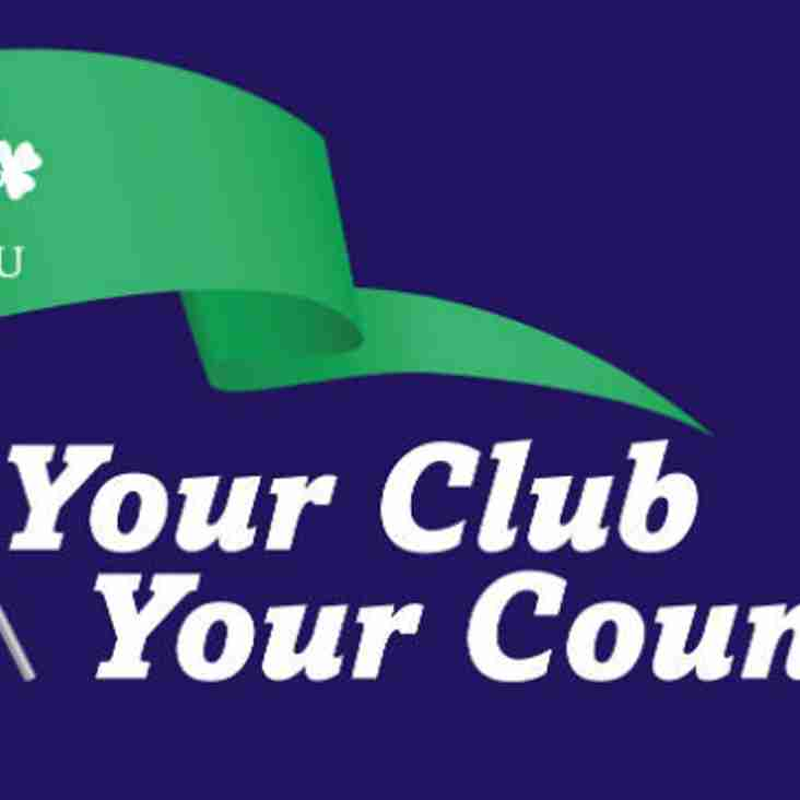 Huge prizes for Club Your Country Draw
