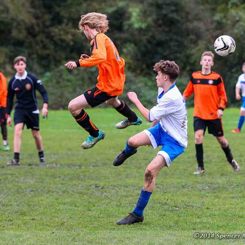 CCYFC Whites U15s v Little Thurrock (H): 02.11.14