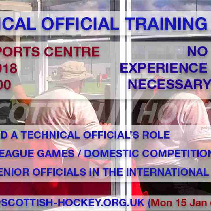 Hockey Technical Official Training