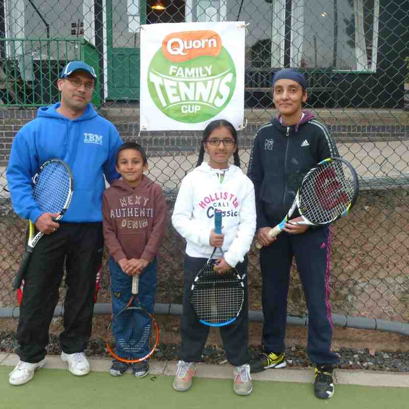 Quorn Family Tennis Cup May 2 2015