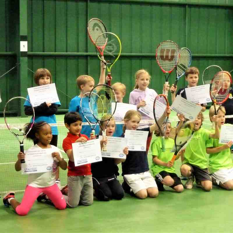 EATS County Mini Red Tennis League  Teams who payed in the Finals & all finalists 2016