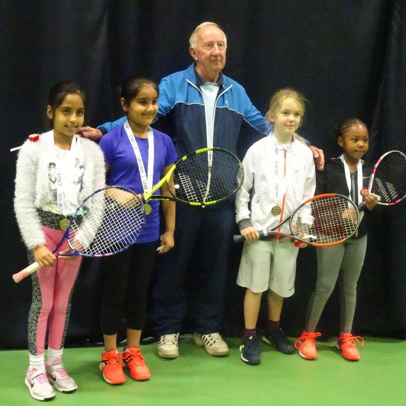 County Mini Tennis Autumn League Red Finals