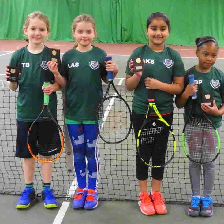 County Mini Tennis Autumn League Girls Orange Finals