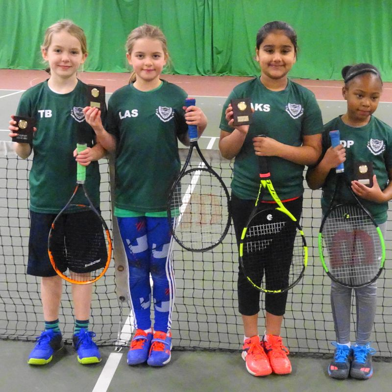 County Mini Tennis Autumn League Girls Orange Finals