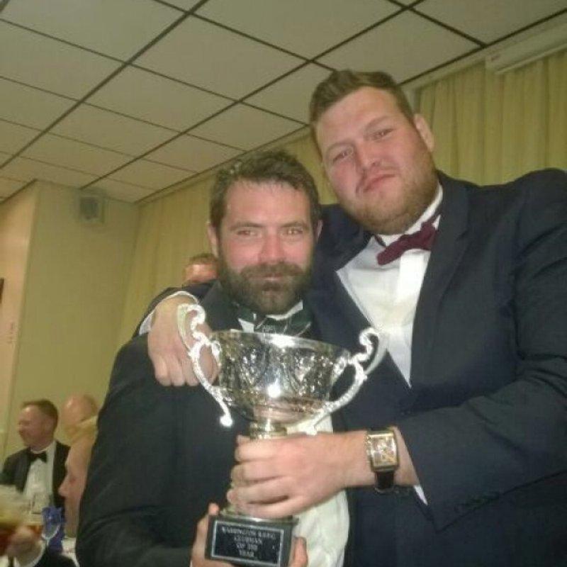 Senior rugby End of season awards