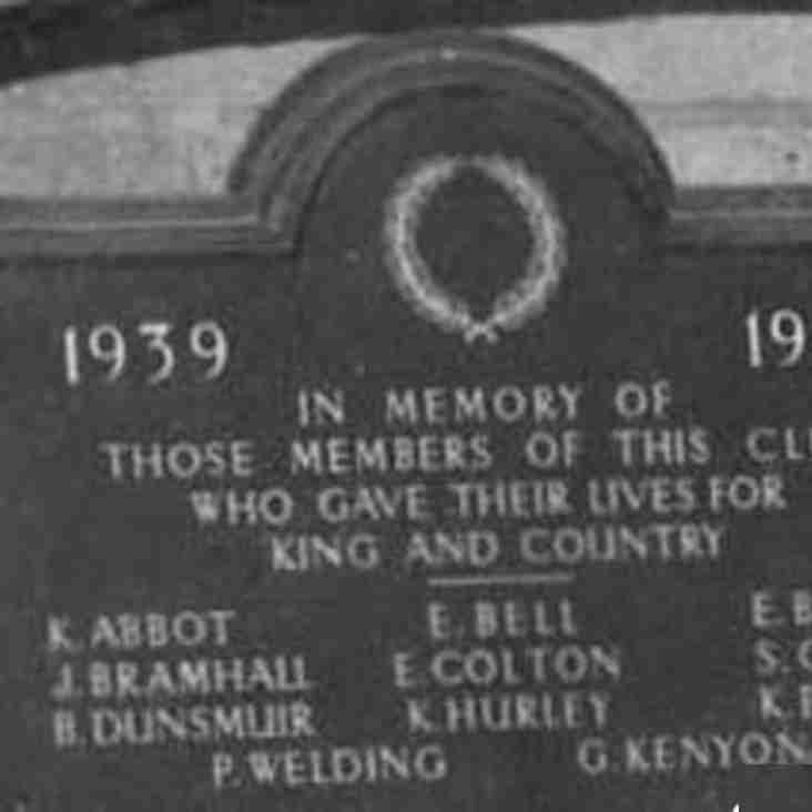 WRUFC Club Members who Died in WWII