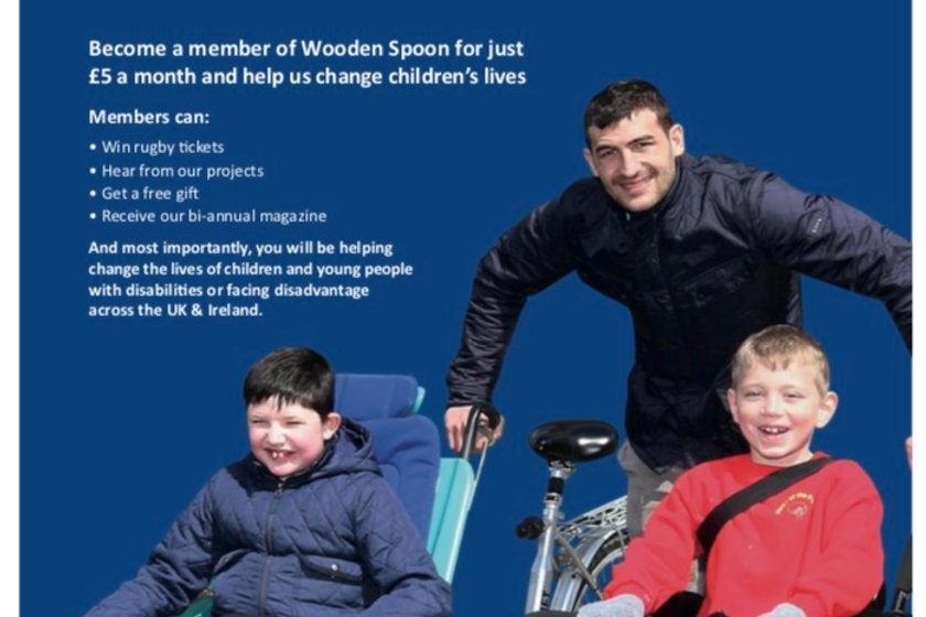 Wooden Spoon - Join our club