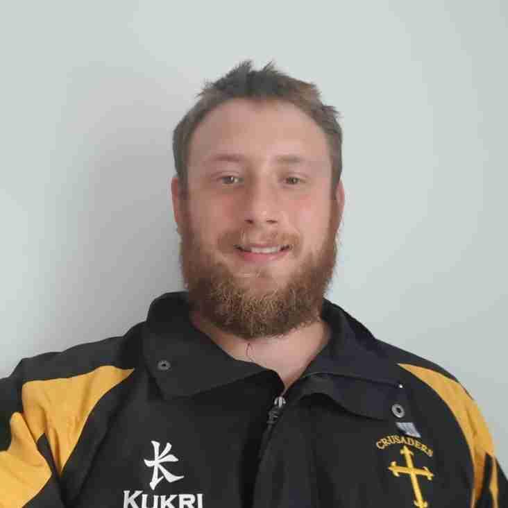 Crusaders RUFC Welcomes David Howard as Director of Rugby.