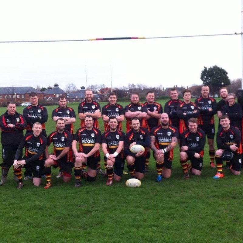 2nd XV lose to Clitheroe 1 30 - 5