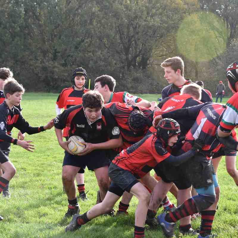 U14 v Petersfield 22nd November 2015