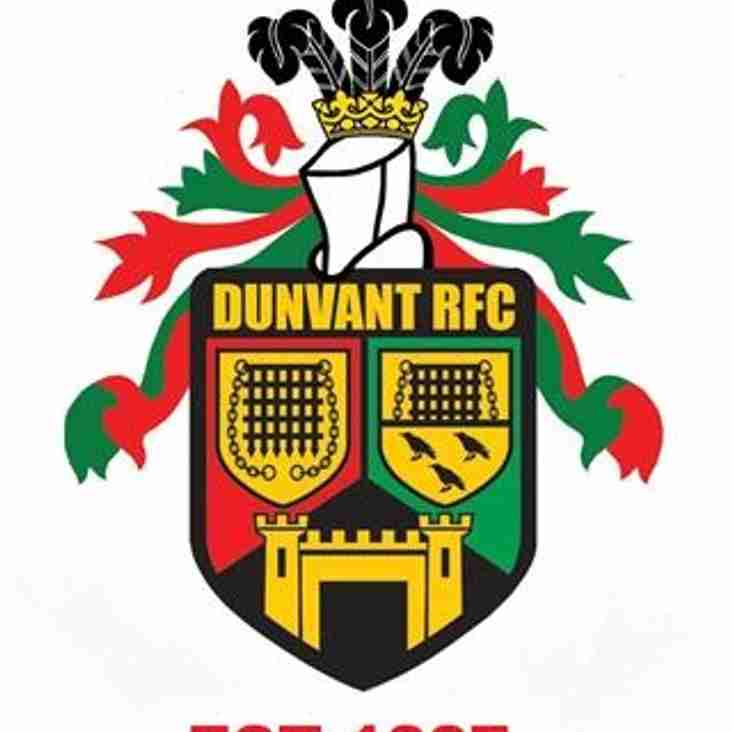 3rd ANNUAL DUNVANT RFC JUNIOR RUGBY FESTIVAL (6th &7th May)