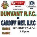 Dunvant vs. Cardiff Met