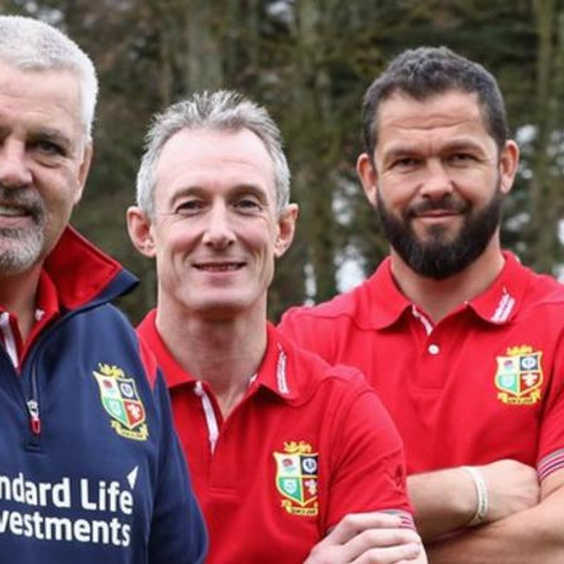 HOWLEY,BORTHWICK & FARRELL JOIN GATLAND'S LIONS TOUR