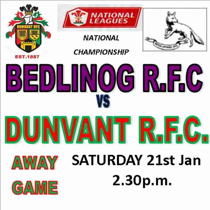 CAN DUNVANT OUTFOX THE FOXES THIS SATURDAY? (21stJan)
